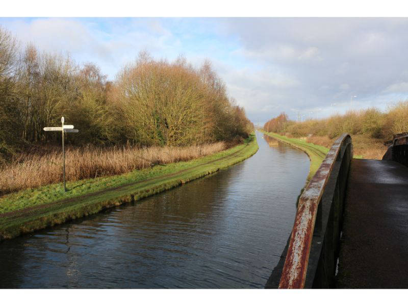 Rushall Junction with the Rushall Canal